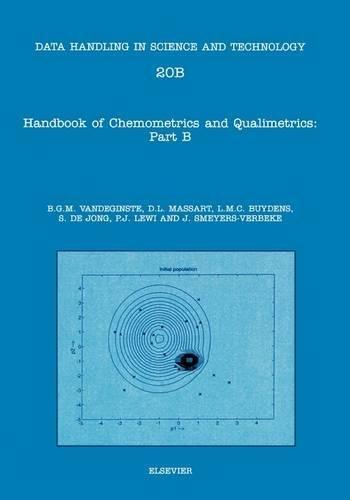 9780444897244: Handbook of Chemometrics and Qualimetrics, Volume 20A: Part A