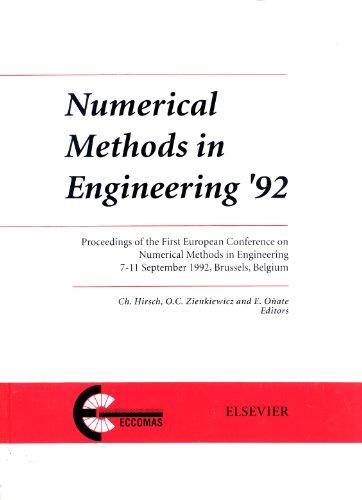 Numerical Methods In Engineering: Proceedings Of The First European Conference, Brussels, Belgium, ...