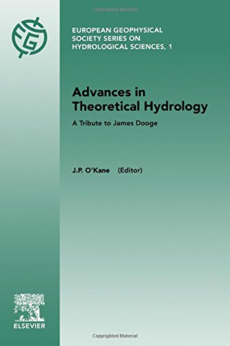 9780444898319: Advances in Theoretical Hydrology: A Tribute to James Dooge (European Geophysical Society Series on Hydrological Sciences)