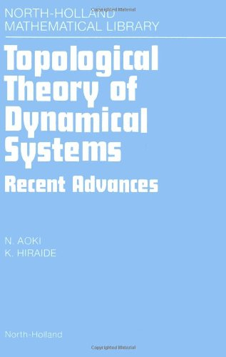 9780444899170: Topological Theory of Dynamical Systems: Recent Advances (North-Holland Mathematical Library)