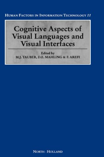 9780444899477: Cognitive Aspects of Visual Languages and Visual Interfaces, Volume 11 (Human Factors in Information Technology)