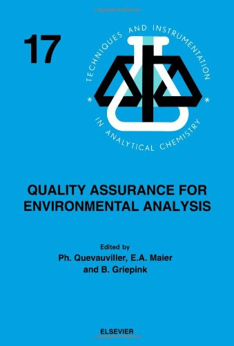 9780444899552: Quality Assurance for Environmental Analysis: Method Evaluation within the Measurements and Testing Programme (BCR) (Techniques and Instrumentation in Analytical Chemistry)