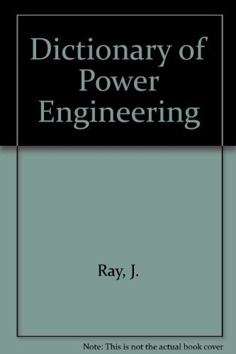 9780444899842: Dictionary of Power Engineering: German-English, with English definitions and English index