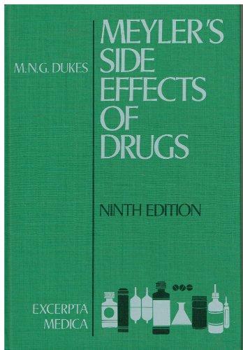 Meyler`s Side Effects of Drugs: Encyclopaedia of: Dukes, M. N.