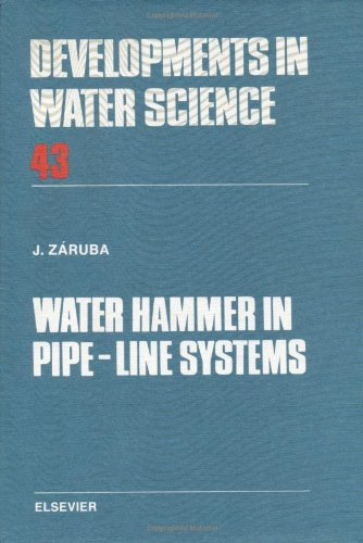 9780444987228: Water Hammer in Pipe-Line Systems (Developments in Water Science)
