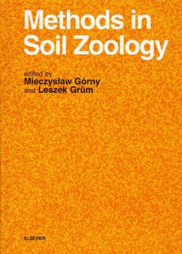 9780444988232: Methods in Soil Zoology