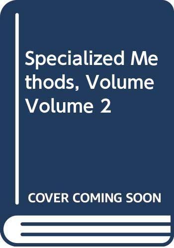 9780444989185: 002: Advanced Light Microscopy: Specialized Methods vol. 2