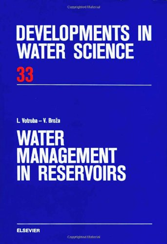 9780444989338: Water Management in Reservoirs (Developments in Water Science)