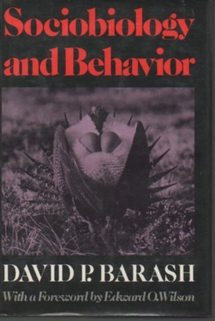 9780444990297: Sociobiology and Behaviour