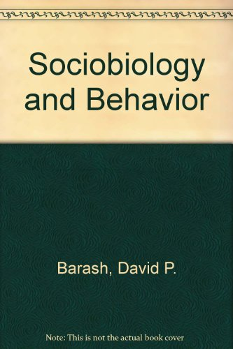 9780444990884: Sociobiology and Behavior