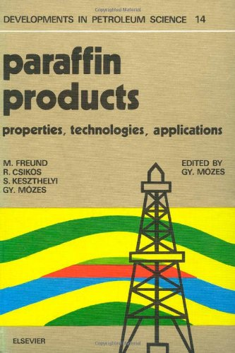 9780444997128: Paraffin Products (Developments in Petroleum Science)