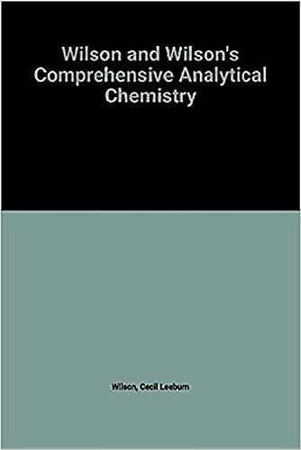 9780444997173: 14: Ion Exchangers in Analytical Chemistry. Their Properties and Use in Inorganic Chemistry (Comprehensive Analytical Chemistry)