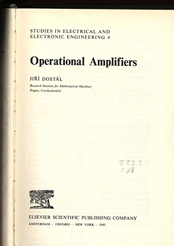 9780444997609: Operational Amplifiers