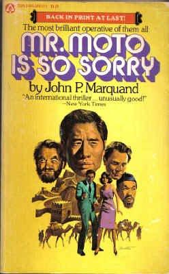 9780445040335: Mr. Moto is So Sorry