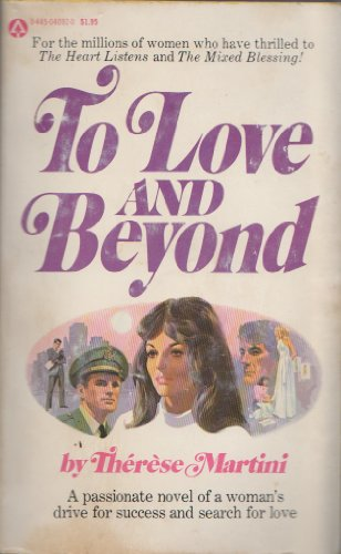 9780445040922: To Love and Beyond