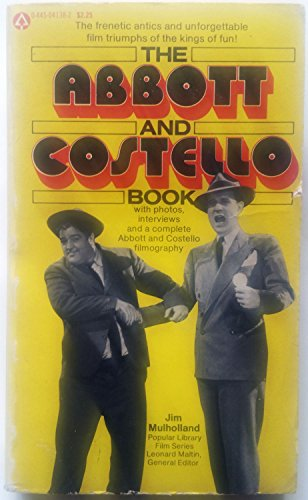 9780445041387: The Abbott and Costello book (The Popular Library film series)