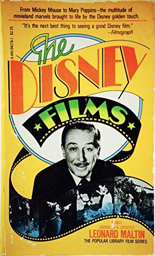 Disney Films: Maltin, Leonard