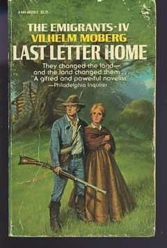 9780445043206: Last Letter Home (The Emigrants Saga, No 4)