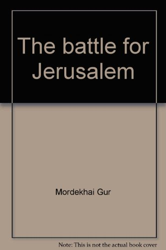 9780445043268: The battle for Jerusalem