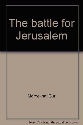 9780445043268: The battle for Jerusalem