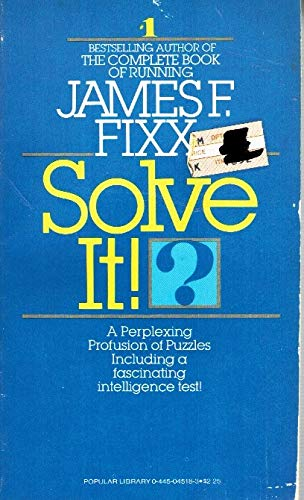 9780445045187: Solve it!: A perplexing profusion of puzzles