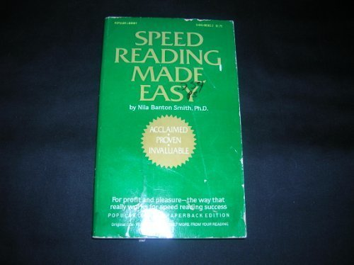 9780445083837: Speed Reading Made Easy