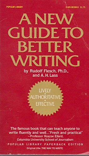 9780445083844: A New Guide to Better Writing