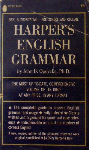 9780445083875: Harper's English grammar.