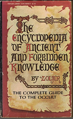 9780445084490: Encyclopedia of Ancient and Forbidden Knowledge