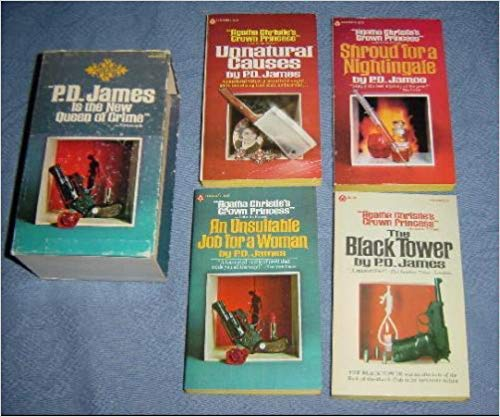 9780445093836: P. D. James Box Set (The Black Tower, Shroud for a Nightingale, Unnatural Causes, An Unsuitable Job for a Woman)