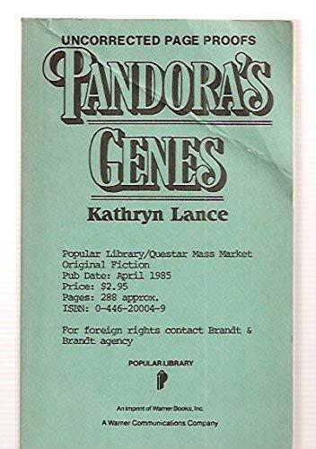 9780445200043: Pandora's Genes