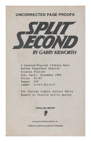 Split Second (9780445201149) by Kilworth, Garry