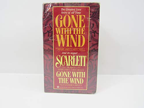 Cover of the book, Gone with the Wind and Scarlett-2 Vol. Boxed Set.