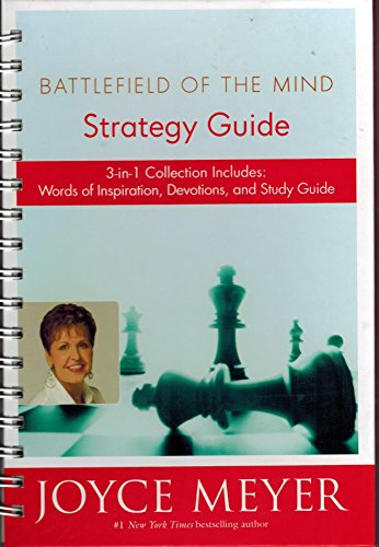 9780446178327: Battlefield of the Mind (Strategy Guide: 3-in-1 Collection Includes: Words of Inspiration, Devotion, and Study Guide)