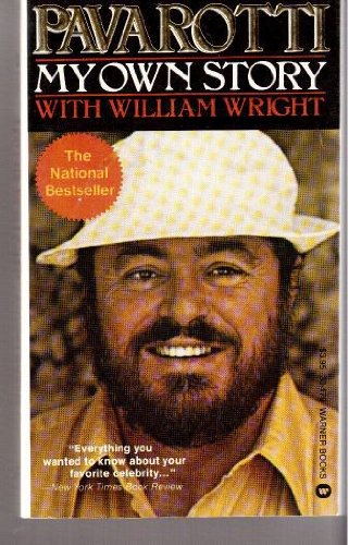 Pavarotti: My Own Story (0446301795) by Luciano Pavarotti; William Wright