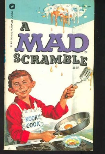 A Mad Scramble 9780446304092 Book by Magazine, Mad and Mad