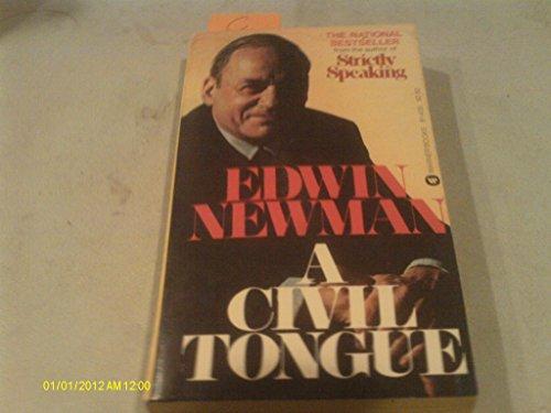 9780446307581: A Civil Tongue