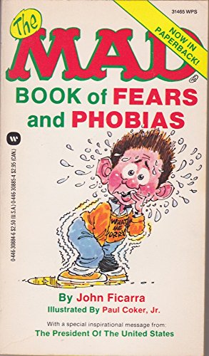 9780446308847: The Mad Book of Fears and Phobias