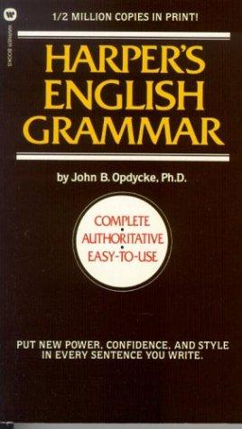 9780446311847: Harper's English Grammar