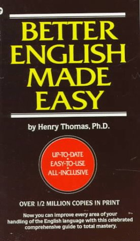9780446311908: Better English Made Easy