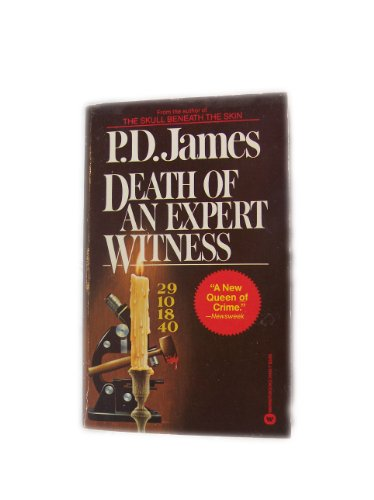9780446314138: Title: Death of an Expert Witness Adam Dalgliesh Mystery