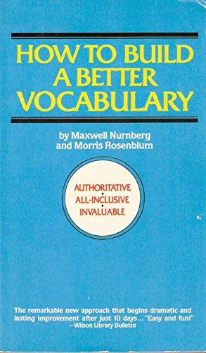 9780446314442: How to Build a Better Vocabulary