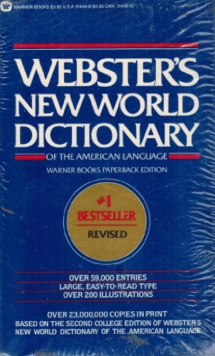 9780446314497: Webster's New World Dictionary