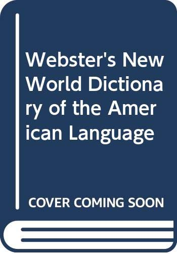 9780446314503: Webster's New World Dictionary of the American Language