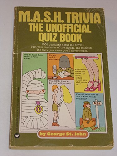 9780446320009: M*A*S*H Trivia Book