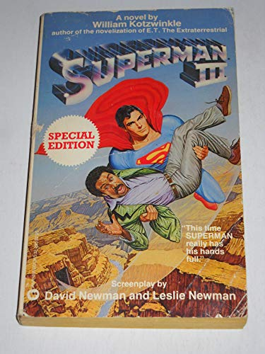 Superman III (0446322334) by Kotzwinkle, William