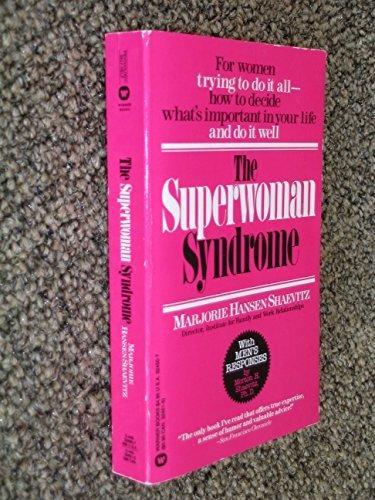 9780446324502: Superwoman Syndrome