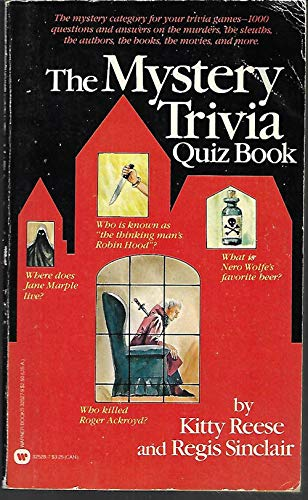 9780446325271: The Mystery Trivia Quiz Book