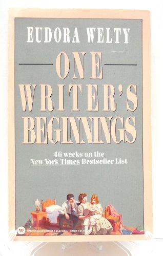 9780446329835: One Writer's Beginnings