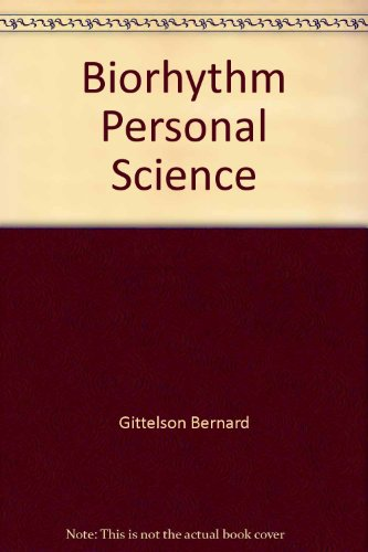 9780446341394: Biorhythm: A Personal Science